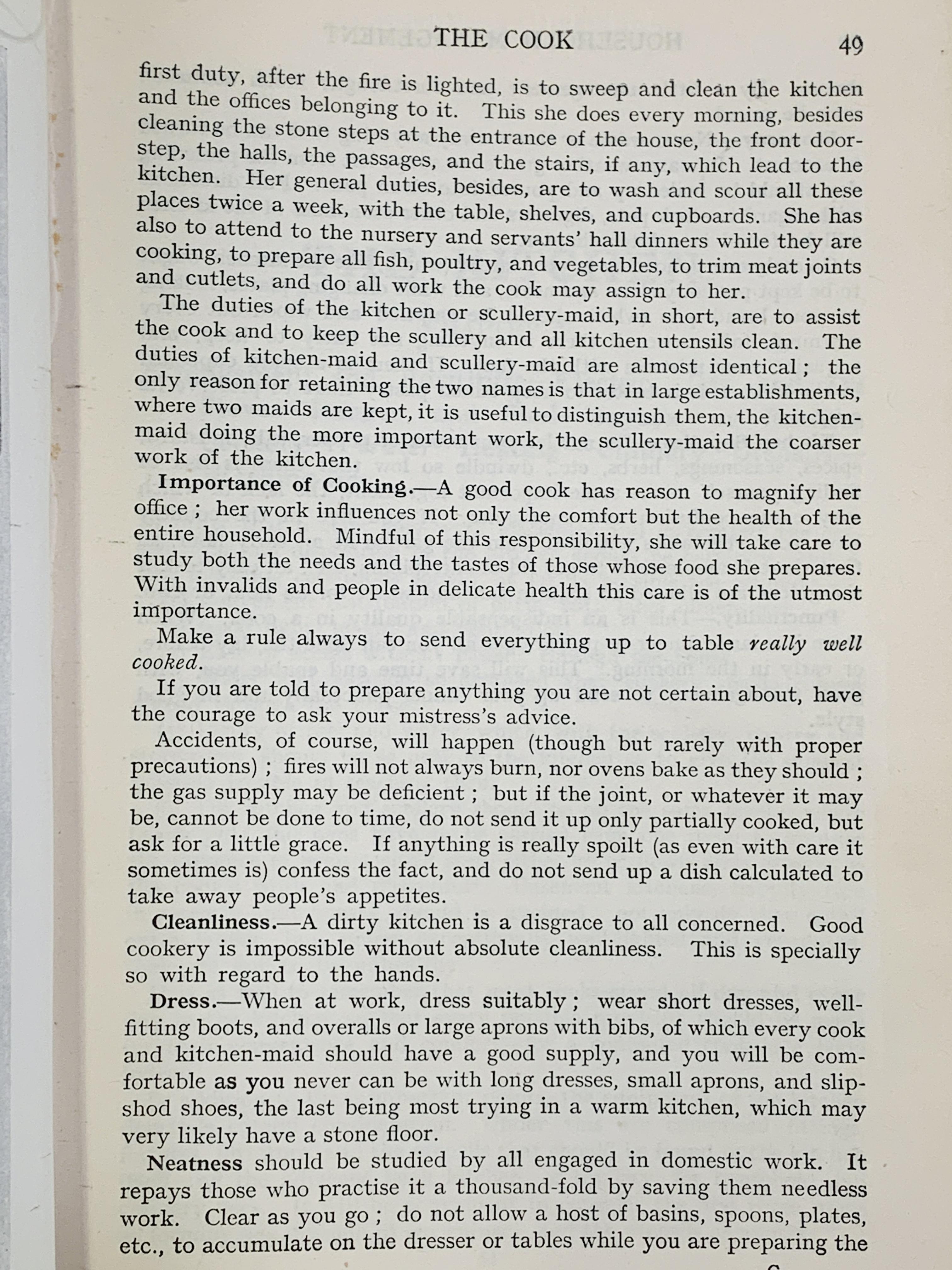 Mrs Beeton's Household Management, published 1923 - Image 3 of 4
