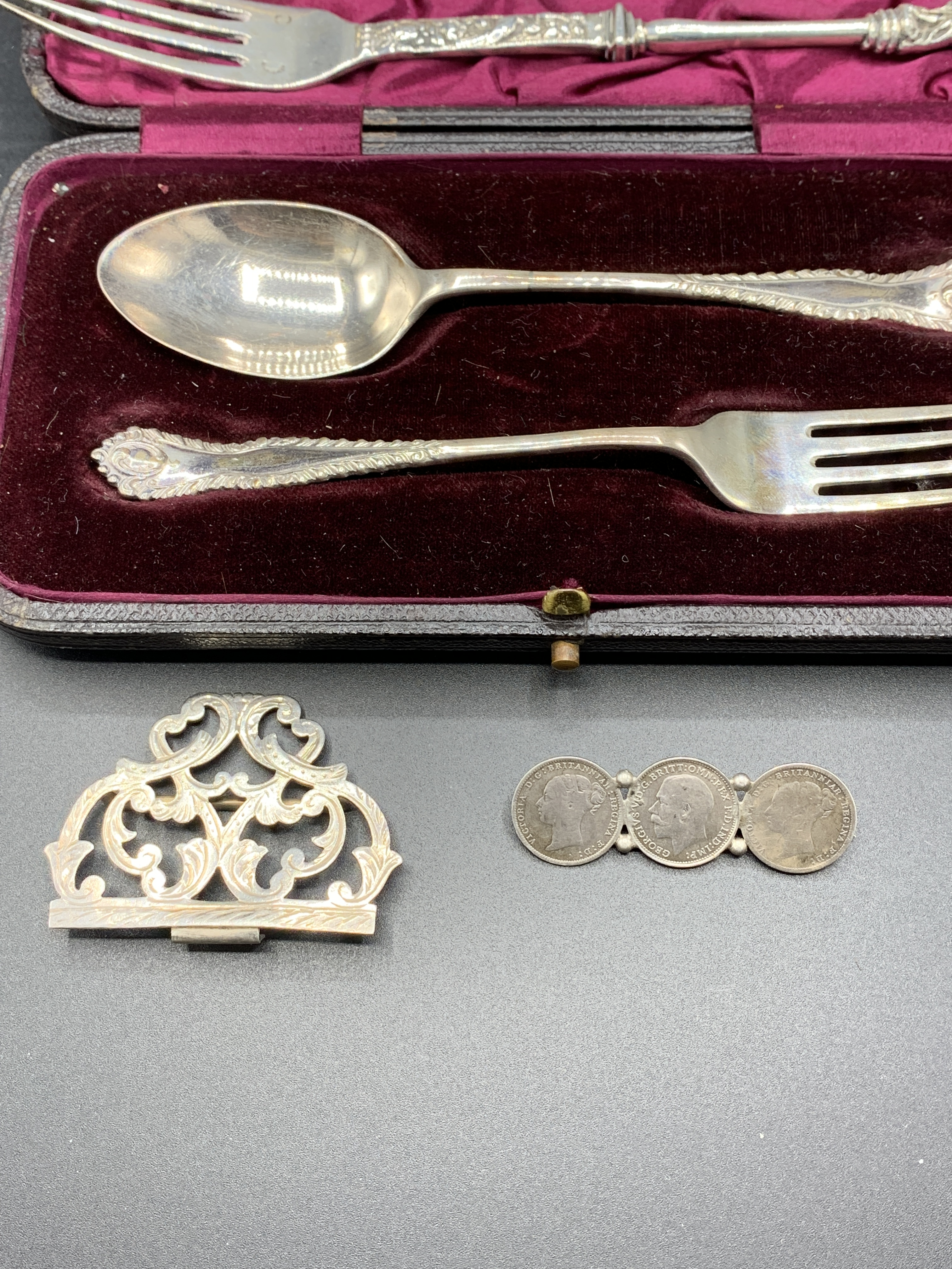 Collection of silver items - Image 3 of 3