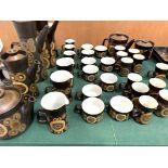 180 pieces of Denby Arabesque tableware