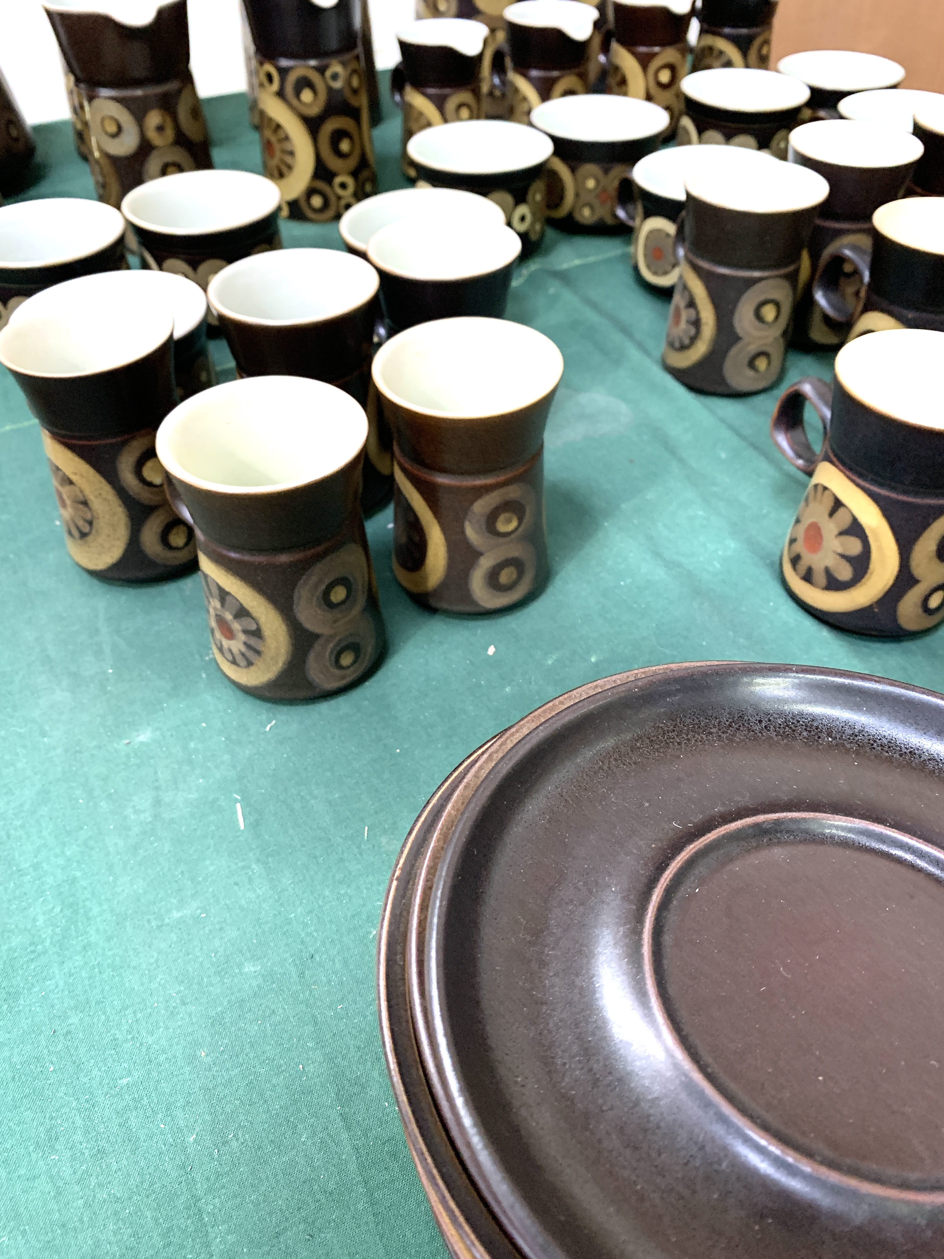 180 pieces of Denby Arabesque tableware - Image 8 of 9