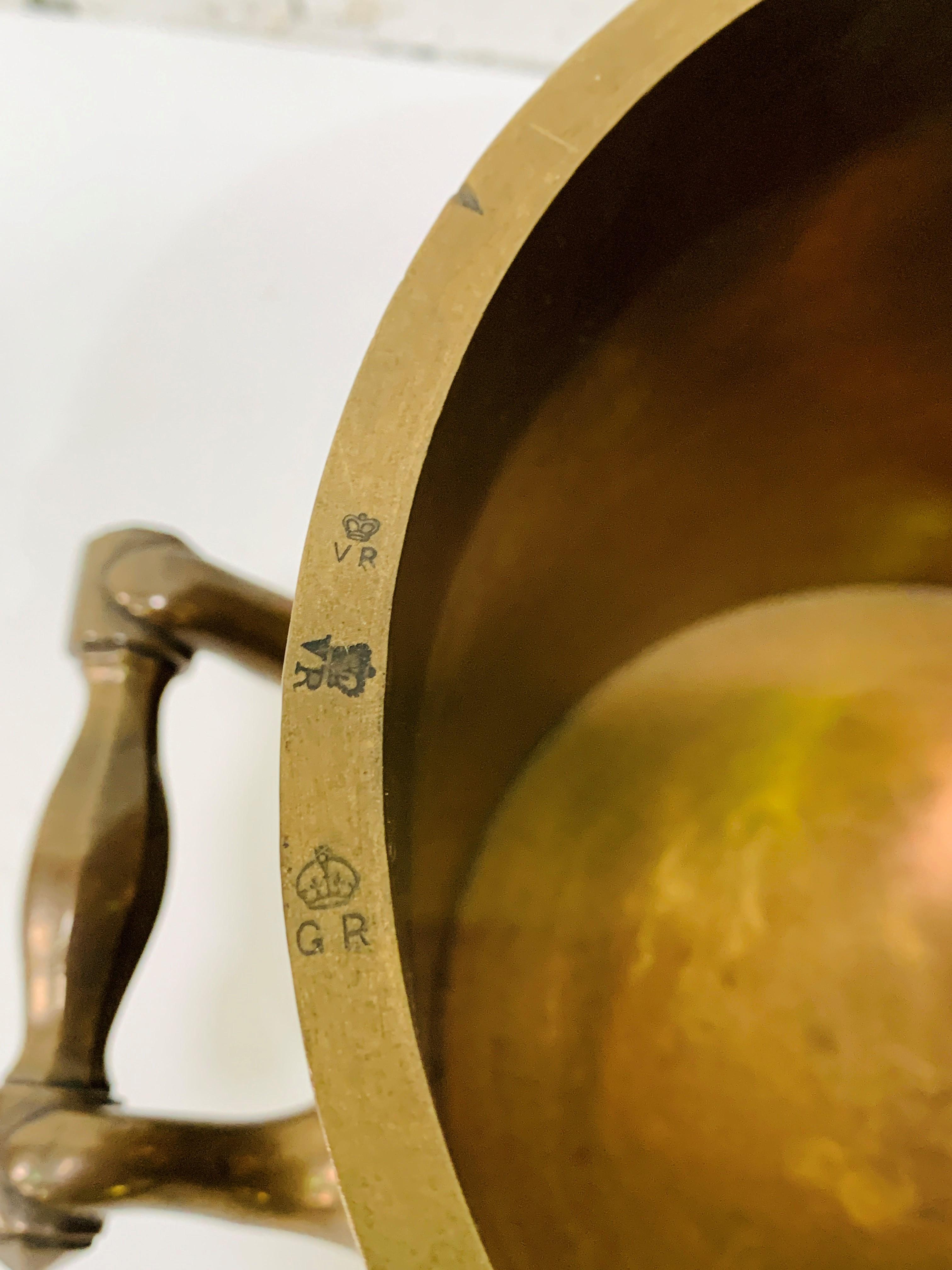 Imperial gallon bronze measure - Image 3 of 4