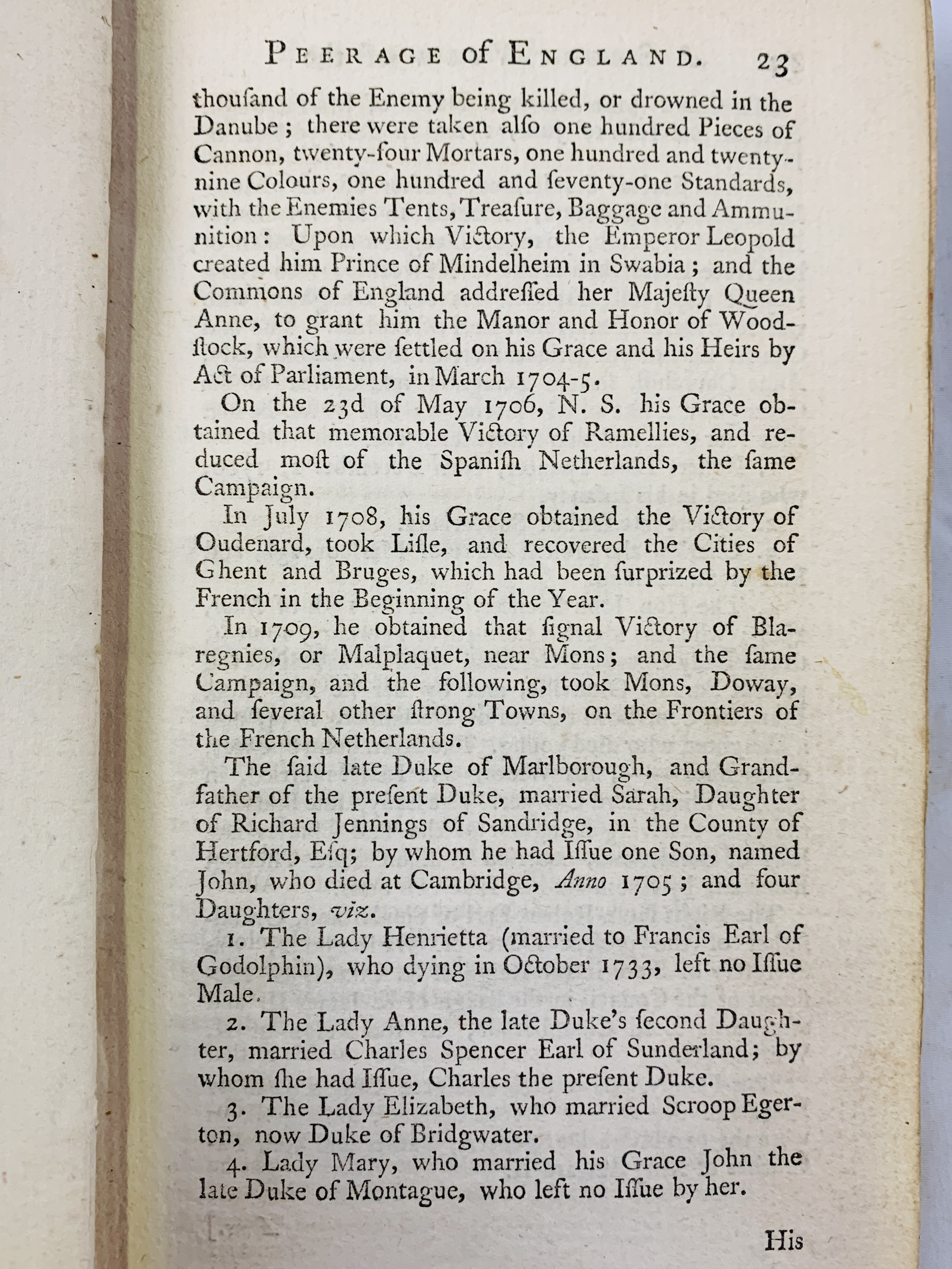 A Short View of the Families of the Present English Nobility, 1758 by Mr Salmon - Image 3 of 4