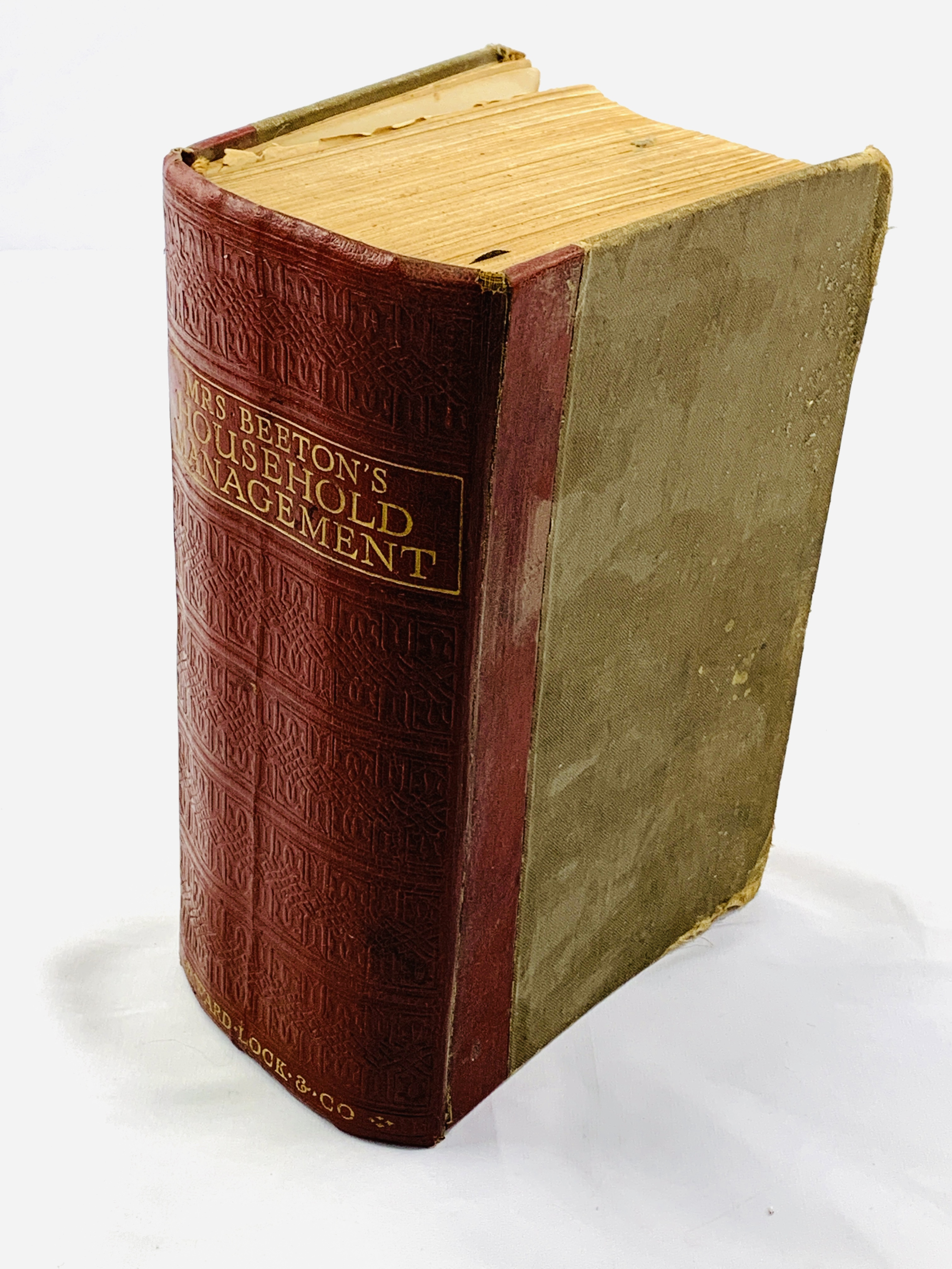 Mrs Beeton's Household Management, published 1923