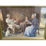 Henry John Terry (1818-1880). Gilt framed and glazed watercolour