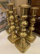 Quantity of brassware