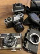 Case of cameras and lenses