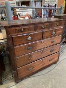 Mahogany Scotch chest of drawers