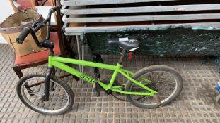 Trax BMX Bike Green