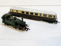 Lima electric-gauge model electric train; and a Dopal model electric tank engine