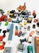 Collection of mainly diecast model vehicles