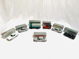 Seven Cursor-modell Mercedes Benz vehicles
