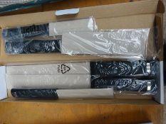 Five piece knife set