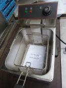 Infinity single tank electric fryer