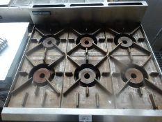 Blue Seal 6 burner gas oven