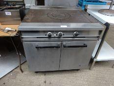 Falcon dominator solid top oven, gas