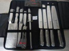 Samurai knife set