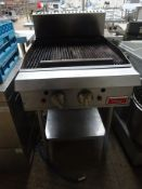 Thor gas chargrill twin burner