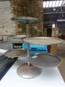 Tray stand and trays