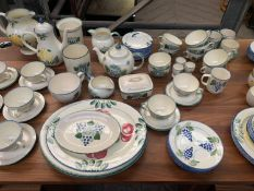 Quantity of Poole Pottery tableware