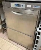 1 x CLASS EQ D500 DUO Commercial Undercounter Dishwasher - Ref: CAM621 - Location: London SW1P