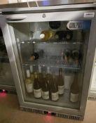 1 x COOLPOINT Commercial Wine / Bottle Fridge HX100 - Ref: CAM603 - Location: London SW1P