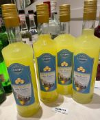 4 x Bottles Of GUAPPO LIMONCELLO - 700ml - New/Unopened Restaurant Stock - Ref: CAM573 - CL612
