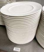 25 x VILLEROY & BOCH Premium Porcelain Fine Dining Restaurant 28.5cm Round Main Course Plates - Fine