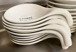 9 x Fine Dining Restaurant Dessert Bowls With Handles - Ref: CAM669 - CL612 - Location: London