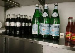 66 x Assorted Bottled Soft Drink Mixers Including Diet Coke, Tomato Juice, Tonic Water, Soda