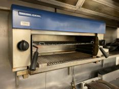 1 x BLUESEAL Commercial Gas-powered Twin-zone Grill - Dimensions: - Ref: CAM633 - CL612 -