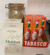 12 x Assorted Items Of Italian Restaurant Ingredients - Ref: CAM521 - CL612 - Location: London