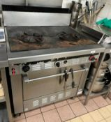 1 x GARLAND Commercial Gas Oven With Double Griddle Hob - Ref: CAM627 - CL612 - Location: London