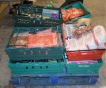 Assorted Collection of Food Items - Recently Removed From Chinese Restaurant - Contents of 11 Crates
