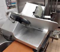 1 x BIZERBA SE12 Commercial Meat Slicer - Ref: CAM615 - CL612 - Location: London SW1P