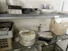 1 x Job Lot Of Assorted Restaurant Tableware - Supplied As Shown - Ref: CAM596 - CL612 - Location: