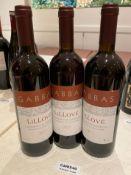 3 x Bottles Of GABBAS CANNENAU DI SARDEGNA - 2017 - 75cl - New/Unopened Restaurant Stock