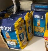 16 x Assorted Packets Of Pasta - Ref: CAM509 - CL612 - Location: London SW1PLot includes: 13 x packs
