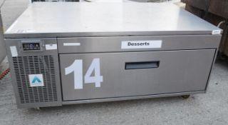 1 x ADANDE VCS Commercial Under Counter Single Drawer Fridge Unit - Dimensions: H49 x W110 x D70cm -