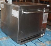1 x MERRYCHEF EIKON E3 Stainless Steel Commercial Oven - Dimensions: H55 x W59 x D59cm - Very