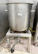 1 x Commercial Gas-powered Pasta / Rice Boiler - Ref: CAM632 - CL612 - Location: London SW1PThis