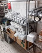 1 x 4-Tier Commercial Kitchen Shelving Unit - Recently Removed From A Leading Patisserie In London -