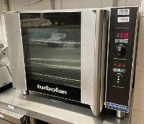 1 x Blueseal TURBOFAN Commercial Oven (Model E31D4) - Ref: CAM613 - CL612 - Location: London