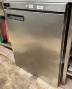 1 x WILLIAMS Stainless Steel Commercial Fridge (Model: HP5CS SS) - Ref: CAM614 - CL612 - Location: