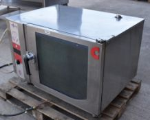 1 x Convotherm OSC Combi Oven - Model OSC 6.10 - 6 Grid Oven With Stainless Steel Finish - 3 Phase