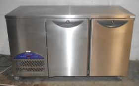 1 x Two Door Williams Counter Top Fridge - CL595 - Location: Altrincham