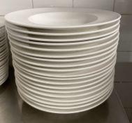 19 x VILLEROY & BOCH Premium Porcelain Large Fine Dining Restaurant Round Soup Bowls - 29.5cm