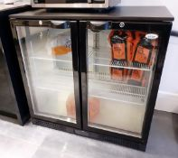 1 x ELSTAR Backbar Cooler - Model: EM231H - Dimensions: 90 x 49 x H88cm - NO VAT ON THE HAMMER