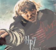 1 x Signed Autograph Picture - HARRY POTTER RUPERT GRINT - With COA - Size 12 x 8 Inch - CL590 -