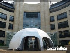 11m EventStation Leg Unit Inflatable Structure with Canopy (2 Bags) - CL573 - Location: Leicester