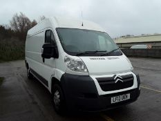 2013 Citroen Relay 35 L3 2.2 HDi H2 Van 130ps LWB Panel Van  - CL505 - Location: Corby,